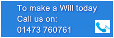 Call us to make a will