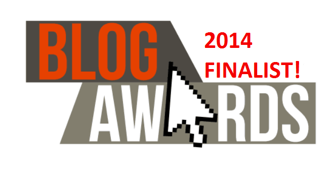 UK Blog Awards 2014 Finalist